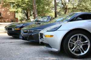 When BMWs get together ....